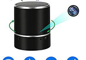 UYIKOO Camera Espion WiFi Cam Spy Enceinte Bluetooth Camera Cachée TANGMI HD Mini Cam sans Fil Caméra de Sécurité avec Lentille Rotative à 180 ° Détection de Mouvement Vidéosurveillance – Bonne qualité